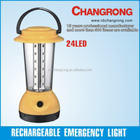 Emergency camping lantern rechargeable battery operated light