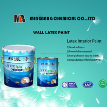 Acrylic flat white interior wall paint