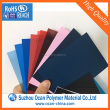Latest Building Lightweight Colorful Plastic Sheet Material from China