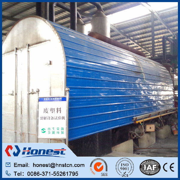 Active Demand electrical heating pyrolysis equipment made in China