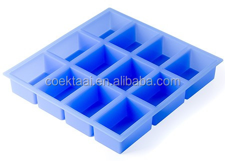 Hot Selling Factory Price Rectangle silicone soap mold