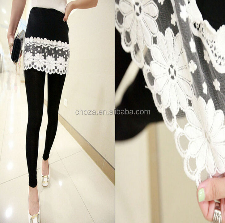 C26555A New Style Lady Lace Skirts Leggings