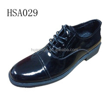 double joint version 2015 hot selling hi-gloss men leather dress/office shoes