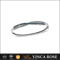 Newest Fashion 925 silver diamond tennis bracelet