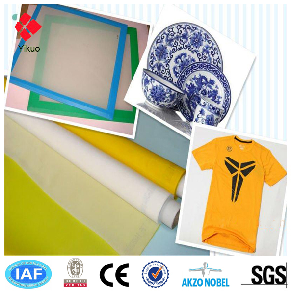 Polyester silk screen printing mesh 10 years factory