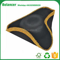 Bolancer Deluxe Colonial Tricorn Hat / Pirate Hat