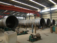 SSAW drainage steel pipes