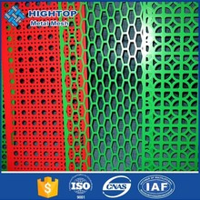 Alibaba express square hole plastic perforated sheets