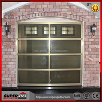 Energy saving insulated sectional aluminium garage door