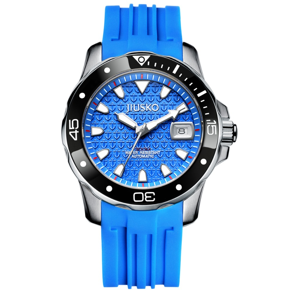 JIUSKO Brand Dive Watch 300M WR JDE0070L, MOQ 50Pcs, Distributors and Wholesalers are Welcome!