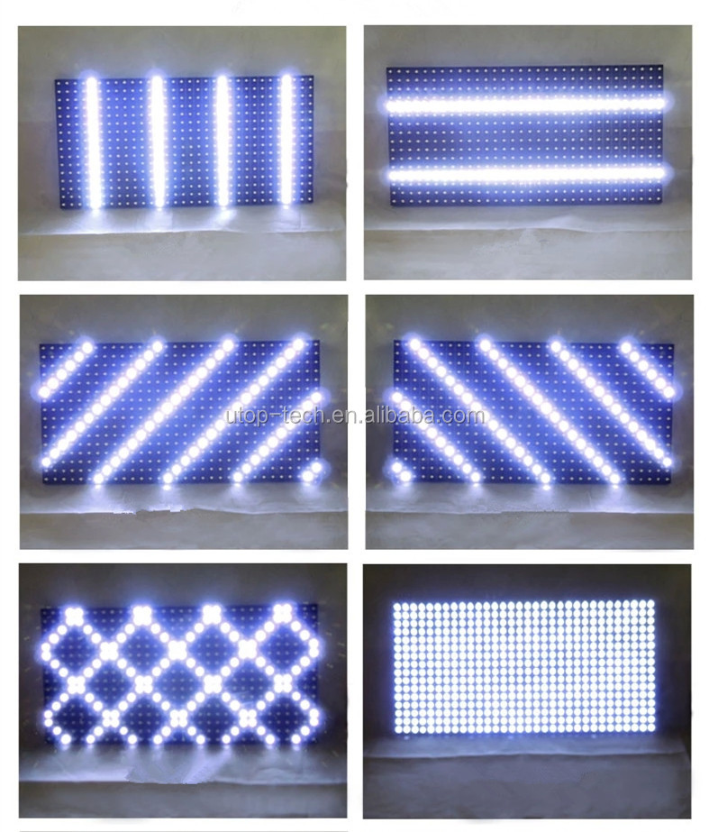 P3 Led Indoor single red color display for rent led display screen 64x32 led display module dot matrix p3