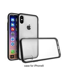 Customized Blank Plain Clear Mobile Phone cases and covers For iPhone 10 custom design For iphone X case cover
