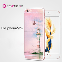 city&case waterproof cell phone cover thin phone case for iphone6 6s