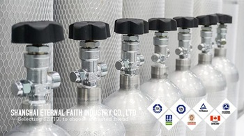 aluminum gas cylinder alloy for helium gas