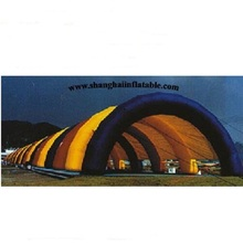 Poplar custom Giant Inflatable colorful/wedding Tent/ Inflatable Camping Tent For Camping 75 squre meters