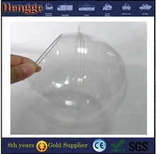 500mm clear acrylic hollow plastic balls in stock