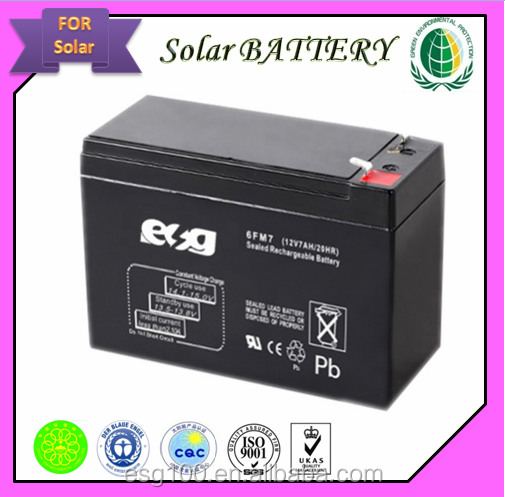 UPS Usage and Free Maintenance Type maintenance free exide battery price 12v 7ah