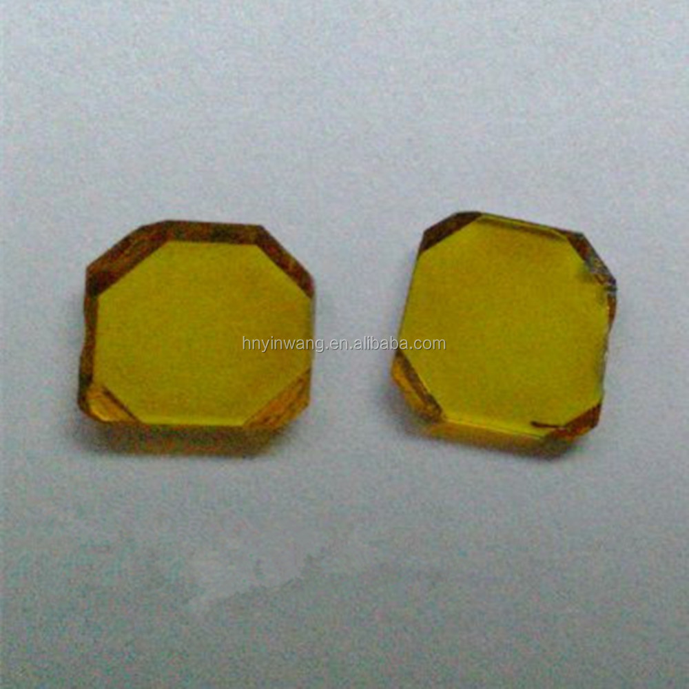 HPHT/CVD Large Single Crystal Synthetic Diamond Plates,High Quality