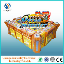 3D Skilled Fish game/ocean monster plus/king of treasures arcade game shooting fish game machine for