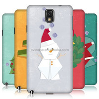 New Fashioin Chrismas Design Smart Cover Case For Samsung Galaxy Note 3 Cell Phone Case