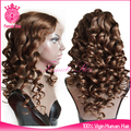 brown color lace front clip in wig human hair, wholesale wigs and hairpieces
