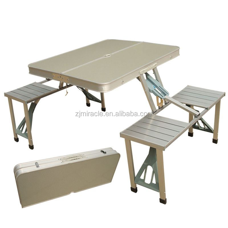 Aluminium folding camping table picnic table