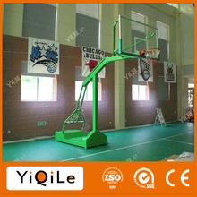 Attractions transparent rebounds outdoor basketball stand