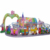 Electric Amusement Rides Amusement Park Equipment Mini Shuttle with animal cabins