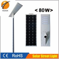 2016 hot sell in South America outdoor solar powered street light led light with solar panel