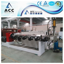 recycled plastic granule extrusion machine with erema system