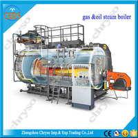 WNS Series Steam Gas Fired Boiler Parts Industrial Thermax Boiler Prices