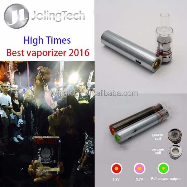 Thekindpen dream vaporizer the best vaporizer 2016 High times with ceramic donuts heating coil 1500mah battery