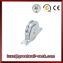 Greatwall wheel bearing groove rope pulley wheels for sliding gate doors and windows