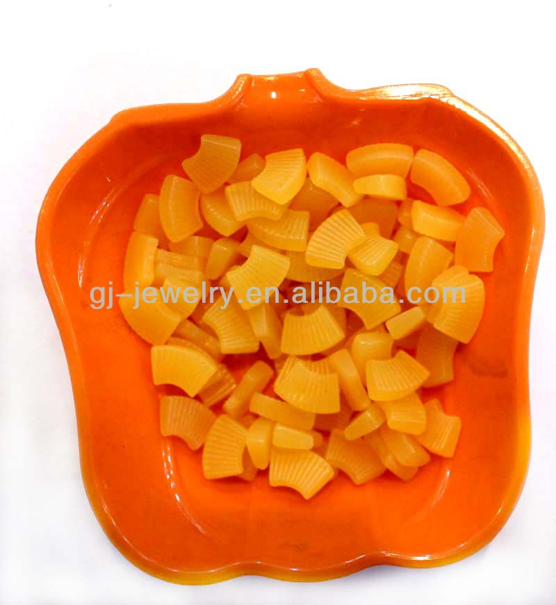 Decorative artificial fruit slices Artificial fruit pineapple for home decoration Can be customized