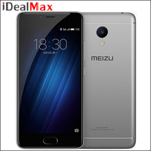 Original Meizu M3s Mini Mobile Phone MTK6750 Octa Core 3GB RAM 32GB ROM 5.0 inch 2.5D Glass Screen 1280*720 Metal Body 13.0MP