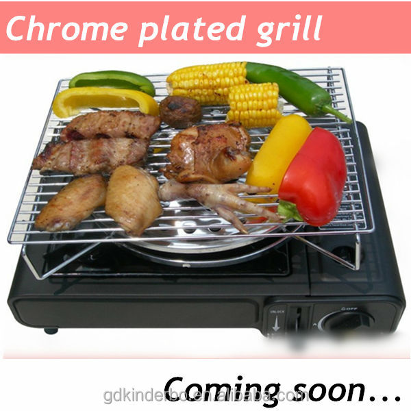 JK-168 double function Mini BBQ camping gas cooker