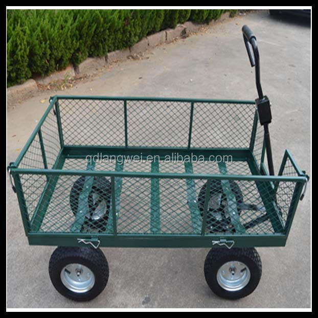 US $34,000 Trade Assurance Towable meshed garden tool carts