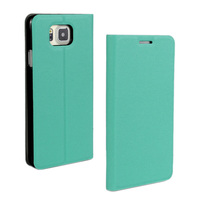 2015 Newly Ultra thin Leather flip case For samsung galaxy Alpha stand case cover