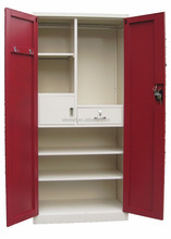 High quality indian steel wardrobe closet design with cheap price