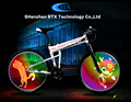 High Quality LED Decorative Bike Bicycle Wheel Light for night cycling
