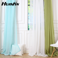 plain sheer curtain fabric for window,wholesale sheer curtain for home decoration