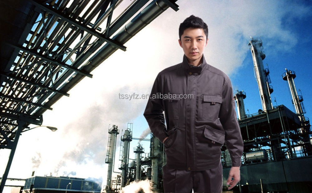 Durable work uniform for construction company