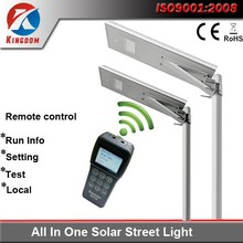 most powerful outdoor led soalr street with intellengize remoter