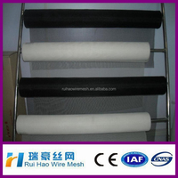 black 0.9m 1.4m fire resistant fiberglass screen