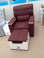 Wholesale Fiberglass Spa Chair Pedicure For Sale Pipeless Pedicure Chair Spa for sale