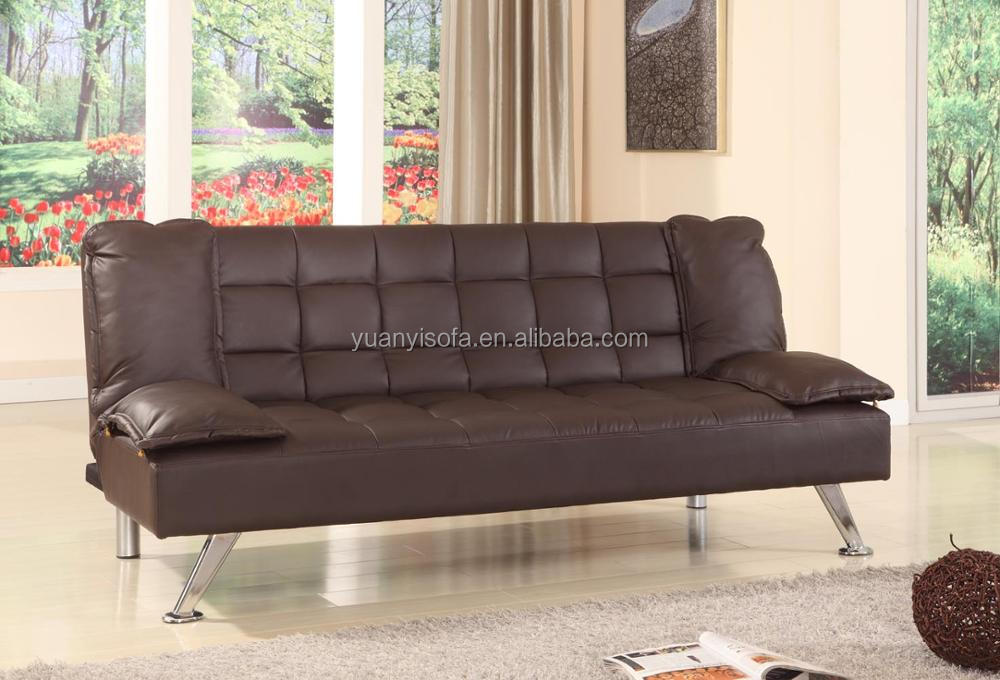 Best selling high quality modern PU leather folding sofa bed YB2214