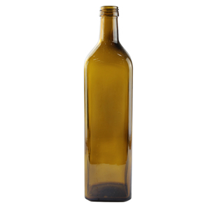 1000ml Glass Olive Oil Bottles Square Olive Oil Bottle