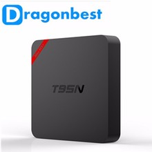 2016 new model video smart KD Player16.1 T95N S905x 1G 8G Quad core android 6.0 os Ott tv box