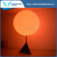 outdoor advertising led inflatable stand ball for sale