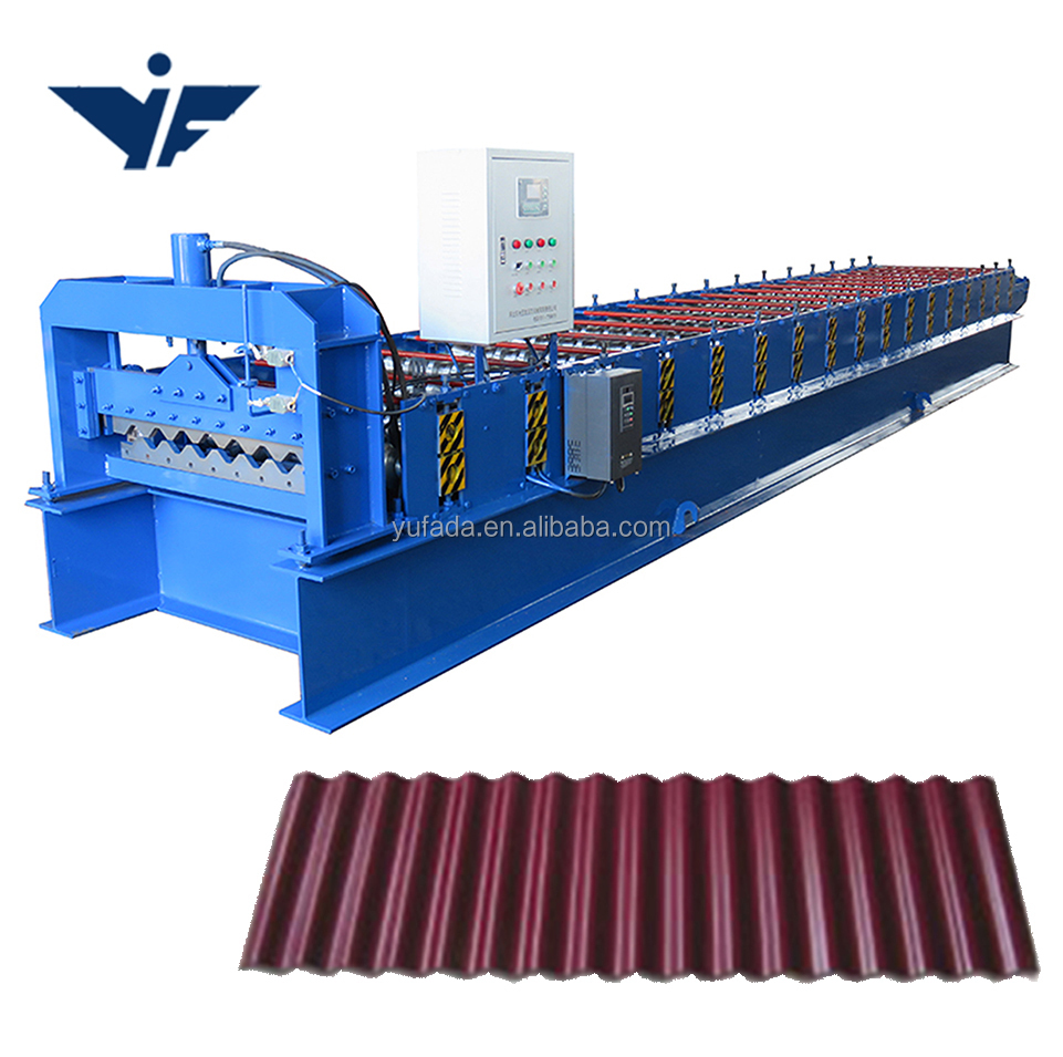 roofing used corrugated steel silo panel roll forming machine